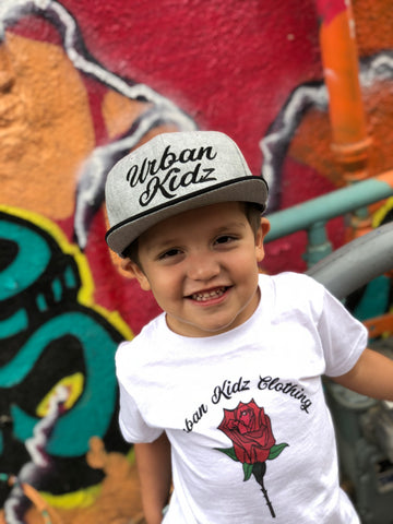 Kids UKC snapback Gray