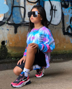 Kidz Club tie dye long sleeve
