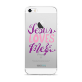 Jesus Loves Me and You iPhone 5/5s/Se, 6/6s, 6/6s Plus Case
