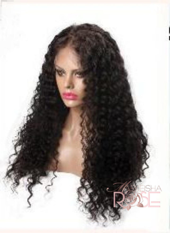 Front Lace wig -Deep Wave