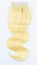 Russian Blonde Closure 4x4