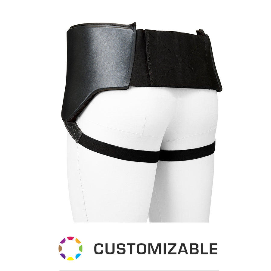 PRO LEATHER ABDOMINAL GUARD