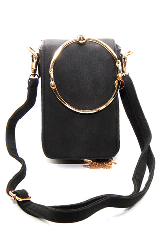 (2PCS) Metal Holder Cross Body Bag