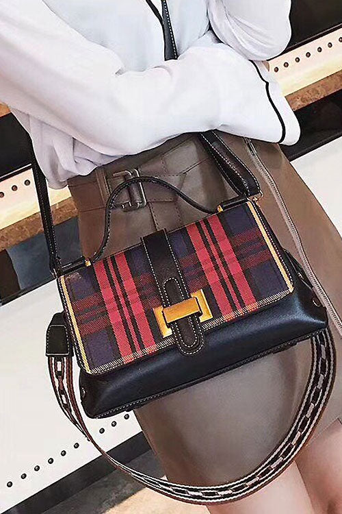 Striped Fashion Shoulder Bag