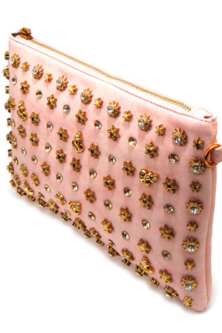 Charms Fashion Clutch Bag