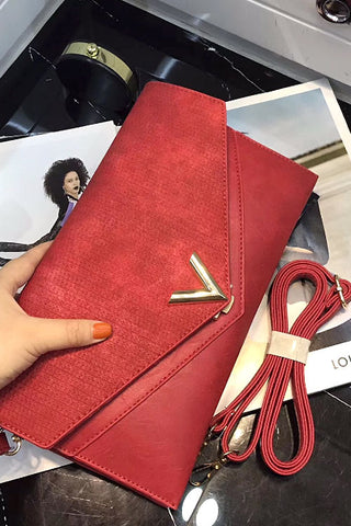 Flat Long Clutch Bag