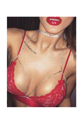 (3pcs) Bra Body Jewelry