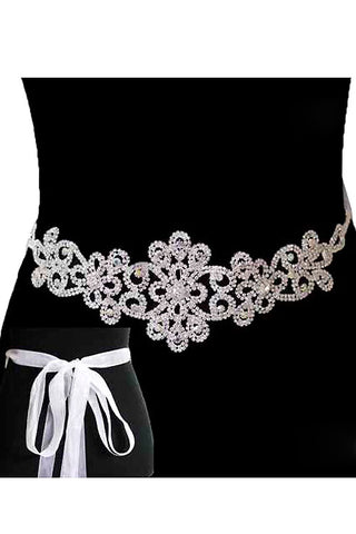 Rhinestone Wedding Belt
