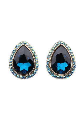 Gemstone Post Earring
