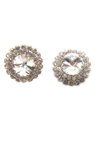 Stone Post Earrings