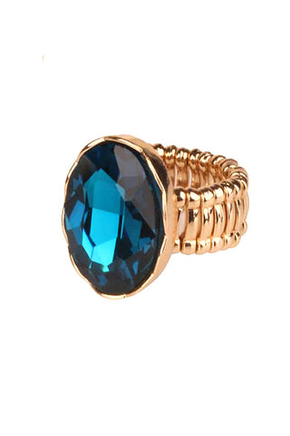 Gemstone Stretchable Ring