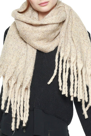SOFT BRUSHED OVER SIZED SCARF