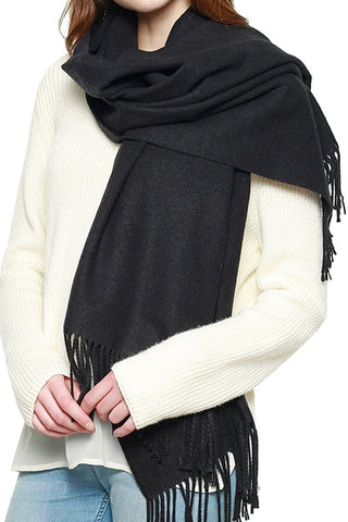 (20PCS) Cashmere Feel Solid Scarf