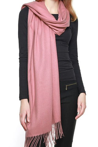 Cashmere Feel Solid Scarf