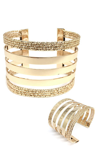 Fashion Metal Cuff Bracelet