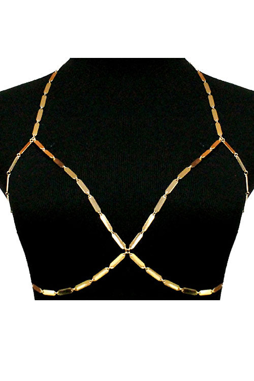 (3PCS) Bra Jewelry Chain Bra