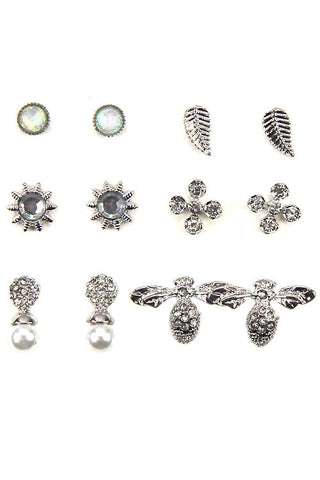 Multi-Post Earring Set