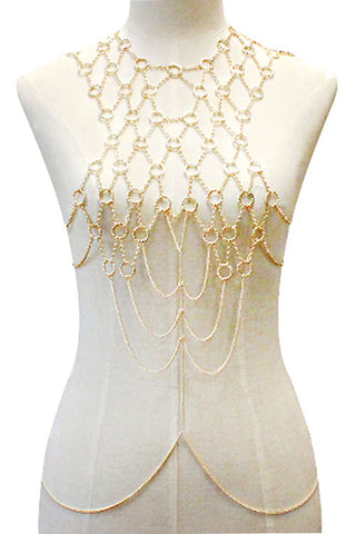 (3PCS) Chunky Body Chain