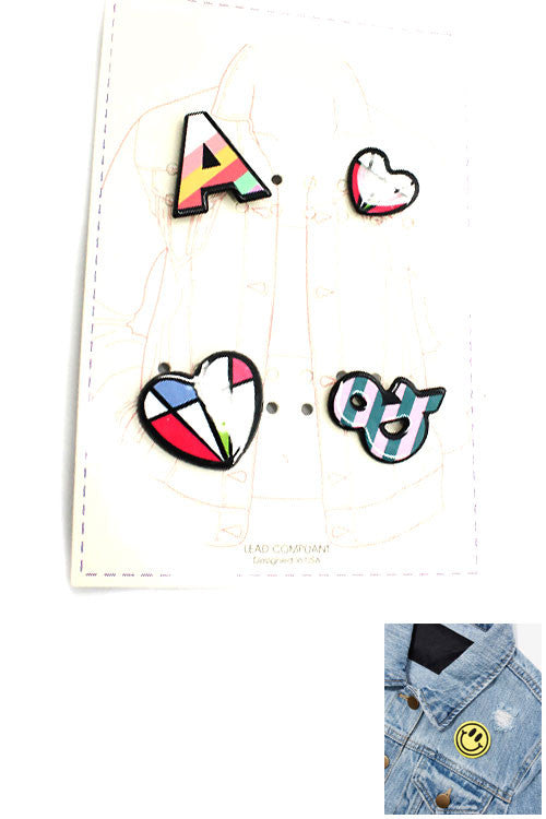 Multi Fashion Pin Set