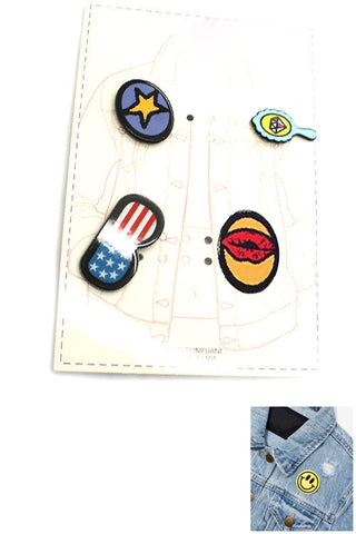 (3PCS) Multi Acrylic Pin Set