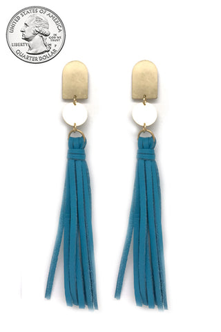Tassel Drop Post Earrings