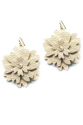 (2PCS) Flower Drop Hook Earrings
