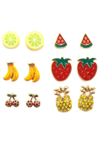 Fruits Earrings Set