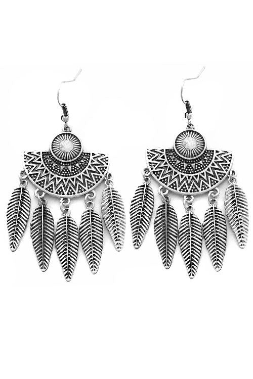 Tribal Hook Earrings
