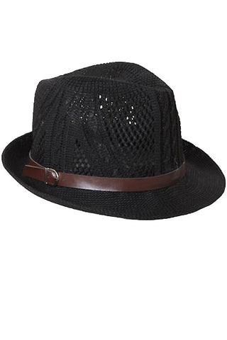 Solid Knit Fedora