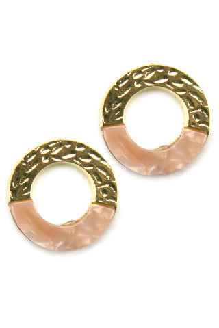 (3PCS)Circular Post Earrings