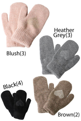 Heart Stone Gloves(12PCS)