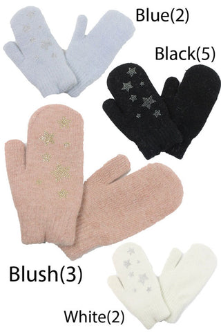 Star Stones Gloves(12PCS)