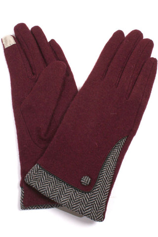 Solid Wool Glove