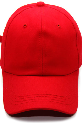 (3PCS) Fashion Plain Baseball Cap