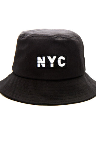 NYC Lettering Bucket Hat