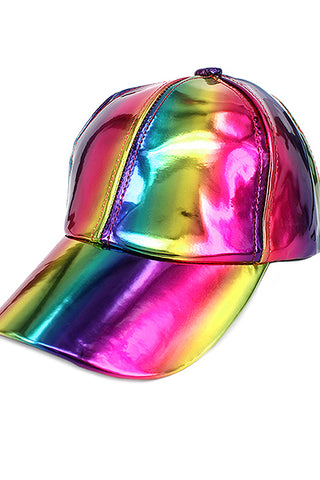Metallic Color Baseball Cap
