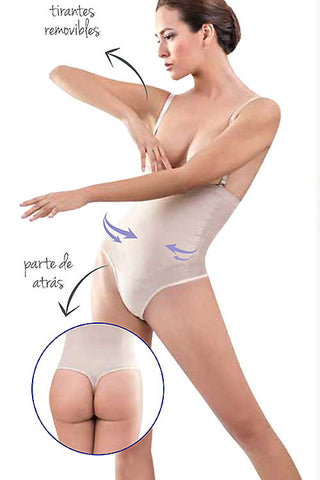 (3PCS) Latex Shape wear-THONG