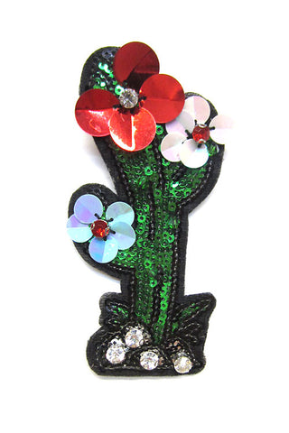 Flower Cactus Fashion Brooch Pin