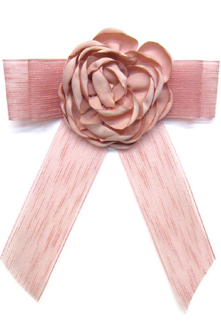 Flower Ribbon Bow Tie