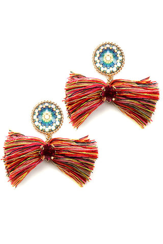 (3PCS) Fashion Tassel Earrings
