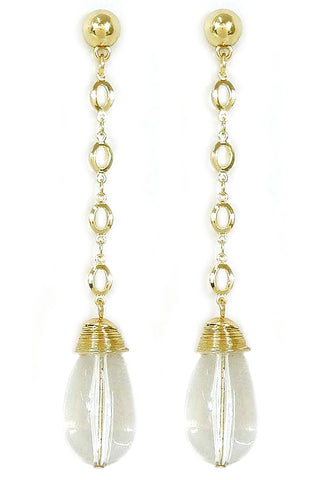 (4PCS) Bead Drop Earrings