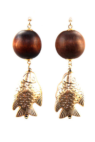 (3PCS) Fish Drop Earrings