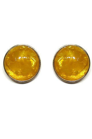 Celluloid Post Earrings