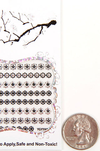 (6PCS) Multi Nail Sticker Set