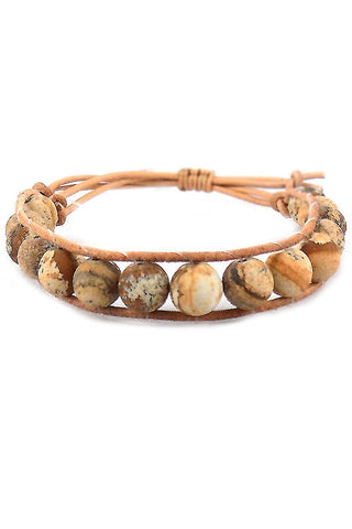 Stone Adjustable Bracelet