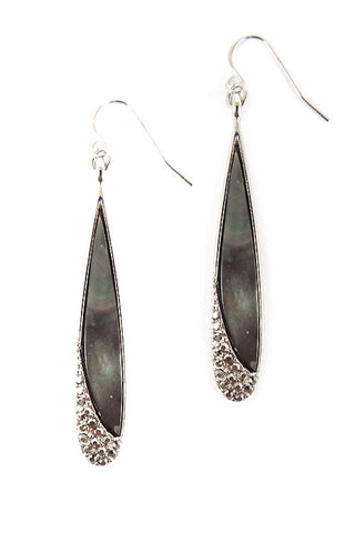 Stone Hook Earrings