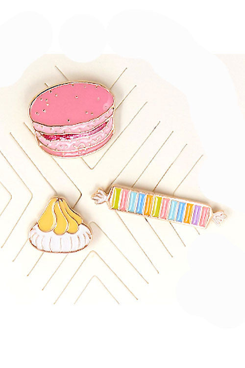 (3PCS) Candy Theme Pin Set