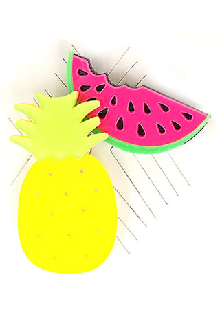 Fruits Theme Pin Set