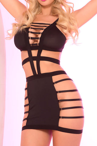 Out Of Line Chemise Bodysuit