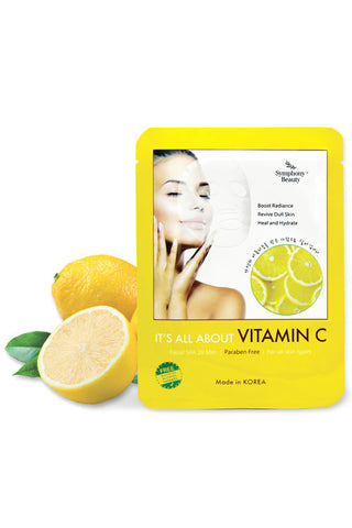 It's All About Vitamin C Facial Mask(5pcs in pk)